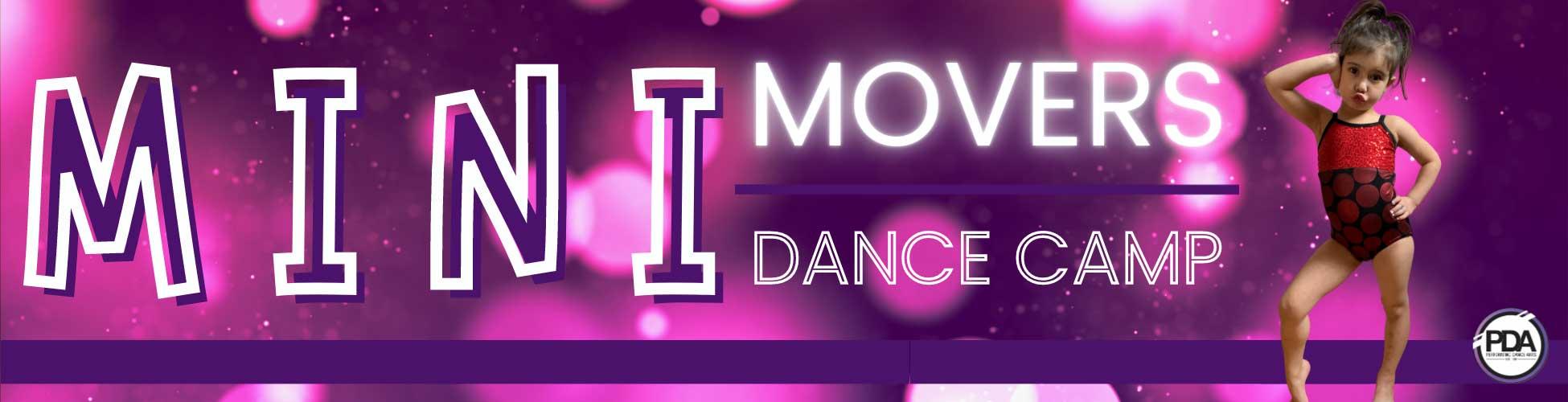 Mini Movers Dance Camp